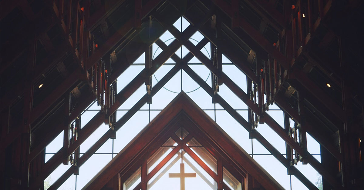 What is a recommended church leadership structure for a church of 200 people?