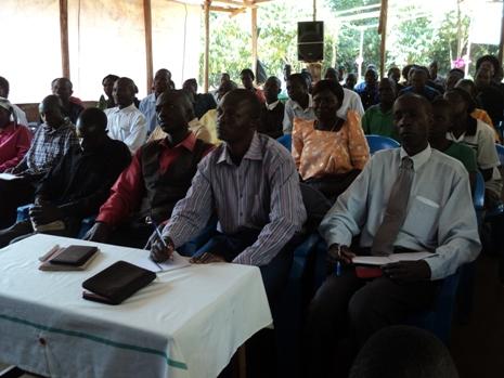 Uganda Pastor's Conference session