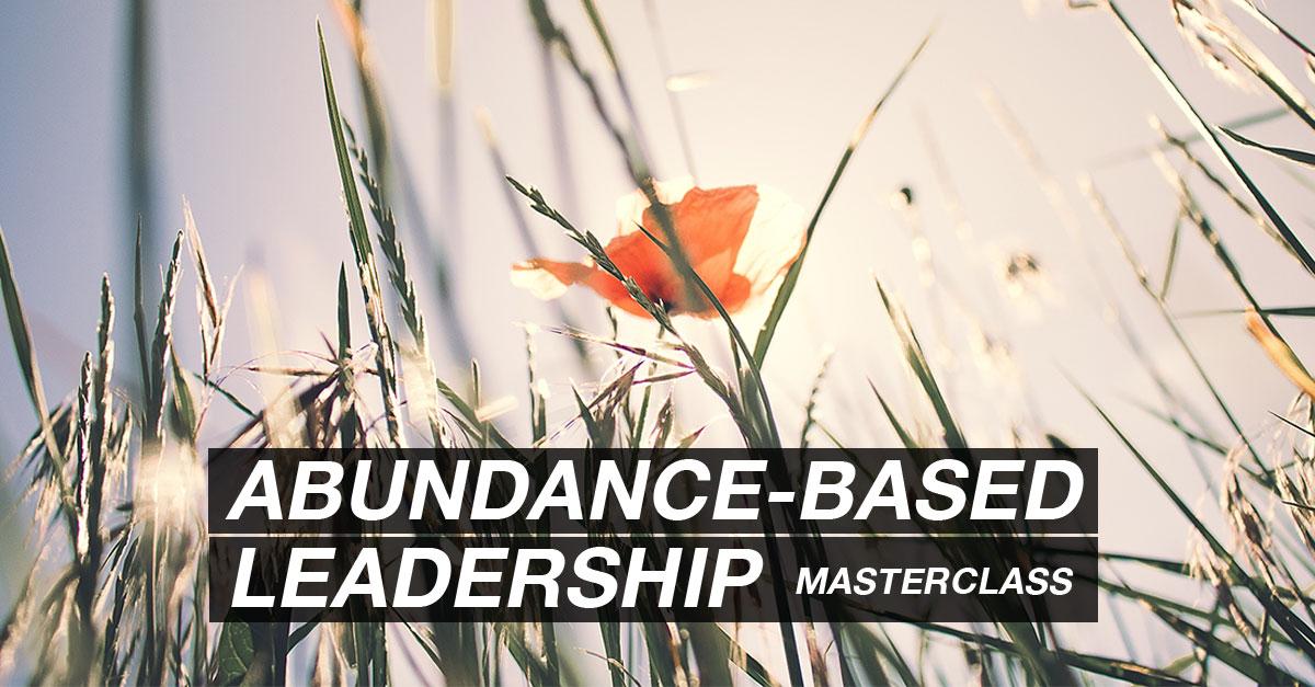 Abundance-Based Leadership